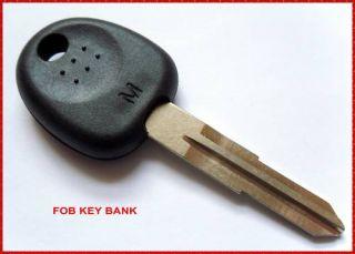 Hyundai Transponder Uncut Key Blank Accent Atos Excel