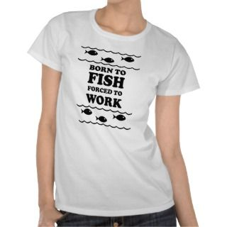 Womens Funny Fishing T Shirts & Tops, Womens Funny Fishing Shirts
