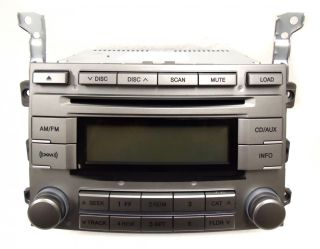 Hyundai Veracruz XM Satellite Radio Stereo 6 Disc Changer MP3 CD