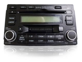 06 07 08 Hyundai azera Infinity Radio Stereo 6 Disc Changer MP3 Tape