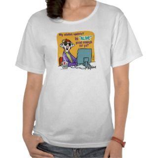 Maxine Status Update Shirt