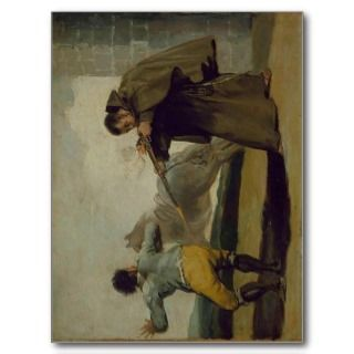 Francisco de Goya y Lucientes Friar Pedro Shoots E Post Cards