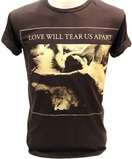 Joy Division Love Will Tear US Ian Curtis Vtg T Shirt S