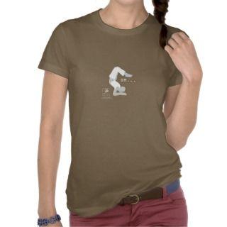 OM Yoga Scorpion Pose T Shirt