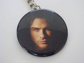 Ian Somerhalder Vampire Diaries Key Chain Purse Charm