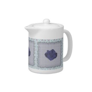 Country Rose Tea Pot
