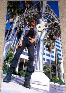 Steve Vai Ibanez Jem 7V Signature Guitar Tribute Poster Import