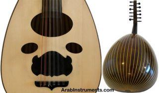 Pro Syrian Oud Ibrahim Sukar Model 212 Hard Case