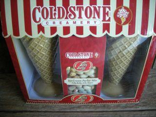 NEW IN BOX Cold Stone Creamery Ice Cream Parlor Gift * Waffle Cones