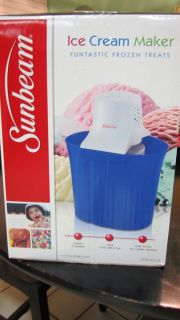 Sunbeam Ice Cream Maker Brand New in Box