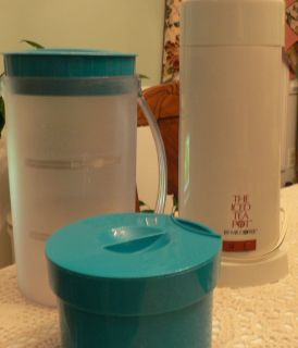 The Iced Tea Pot by Mr Coffee Iced Tea Maker with Pitcher Lid Used