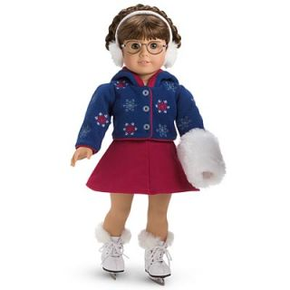 New American Girl Molly Ice Skating Outfit Emily