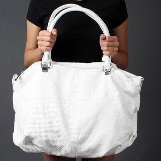 Soft PEBBLED Embossed Pattern Women Designer Icon Crossbody Bag