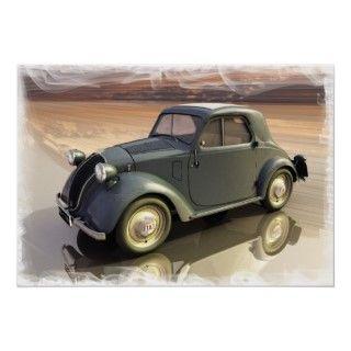 Fiat 500 Topolino poster