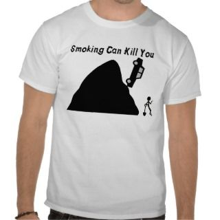 Smoking Can Kill You Tee Shirt