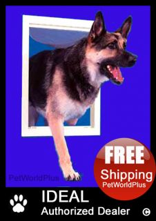 Ideal Original Series Dog Pet Door Flap Large 9 x 15