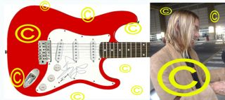 The Stooges Autographed Iggy Pop Signed Guitar & Proof PSA DNA UACC RD