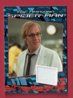 SPIDER MAN MOVIE COSTUME CARD CC4 DR CONNORS Rhys Ifans LAB COAT
