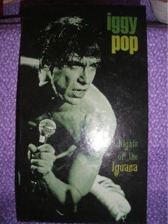 Iggy Pop Nights of The Iguana 4CD Box 605 2000 EX RARE