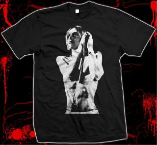 Iggy Pop Raw Power The Stooges Silk Screened SOFT100 Cotton T Shirt