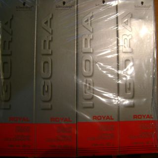Schwarzkopf Igora Royal 6 5 Professional Hair Color RED SILVER BOX
