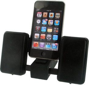 Ikan Portable Speakers for iPhone iPod and MP3 Players
