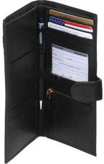 Ili Leather Travel Wallet Passport Case Ticket Holder