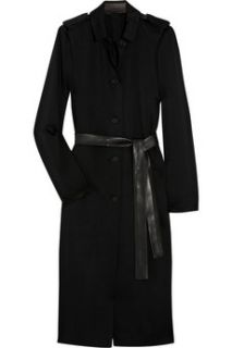 The Row Sultan belted crepe trench coat   60% Off