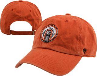 Illinois Fighting Illini Orange 47 Brand Vintage Chief Illiniwek