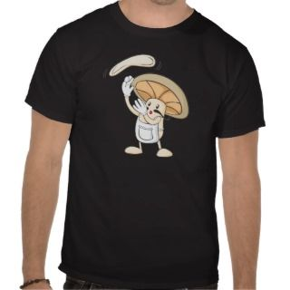 Mushroom Shirts   Mushroom Chef Baker Dough
