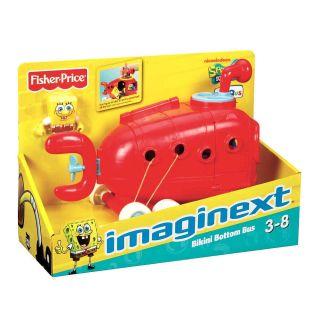 Fisher Price Imaginext Spongebob Vehicle Bus
