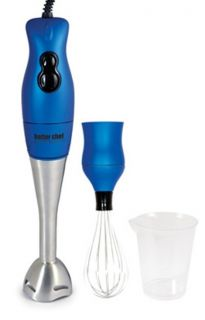 200 Watt Handheld Immersion Blender Hand Mixer Im 808 Blue