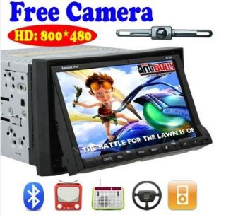DIN in Dash HD 7Car Stereo CD Radio iPod TV  DVD Player
