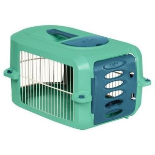 Suncast 19 inch Pet Carrier Round Dog Cat Cage Travel Tote Kennel