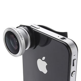 USD $ 25.99   180 Degree Fish Eye Lens for iPhone 4, iPhone 5, and the