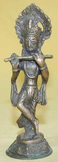 Antique Bronze Indian God Statue Figure 1940
