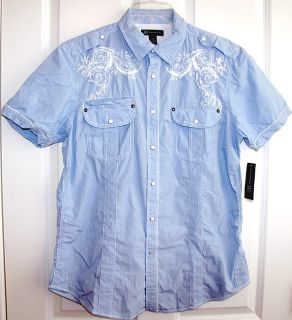 Inc s s Snap Up Shirt Western Style $50