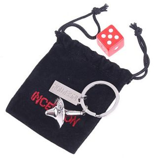 Inception Totem Accurate Spinning Top Key Ring Dice Bag
