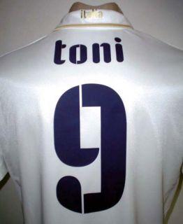 Original Puma Italy Away Soccer Jersey Toni 9 All Sizes