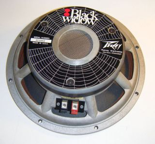 12 inch Peavey Black Widow Guitar Speaker 8 Ohm