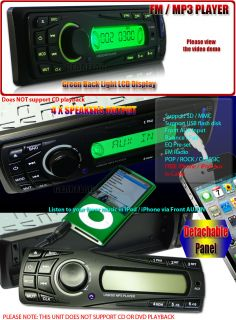 In Dash SD USB  Car Stereo Radio iPhone iPod Aux 889