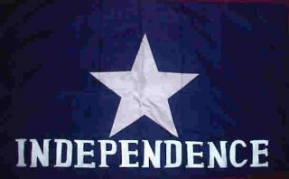 Cotton Texas Indepence Flag Scotts Flag of The Liberals