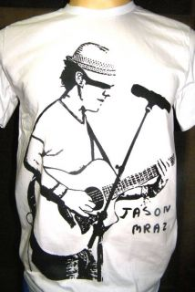Jason Mraz Indie Reggae Pop Rock Surf T Shirt Size SML