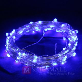 BLUE Color 10M String Fairy Light Christmas Tree Wedding Party Lights