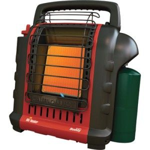Mr. Heater Buddy Indoor Safe Portable LP Gas Propane Heater 9000 BTU