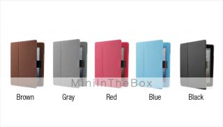 USD $ 11.39   Premium Protective PU Leather Case and Stand w/ Buckle