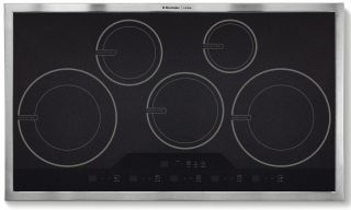 New Electrolux Icon Stainless Steel 36 inch Full Induction Cooktop