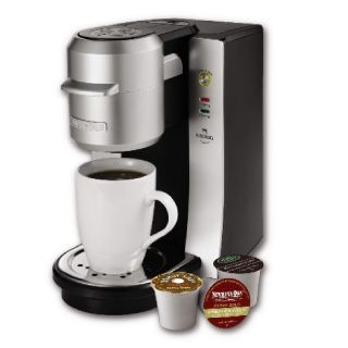 Mr Coffee Single Cup Brewing System Coffeemaker with Keurig Technology