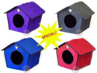 Indoor Collapsible Dog Bed House Furniture