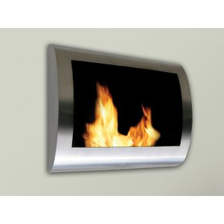 Anywhere Fireplace Chelsea Wall Mount Ethanol Fireplace Indoor